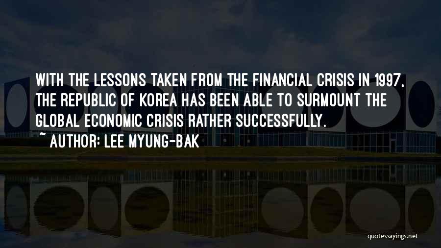 Lee Myung-bak Quotes 321346