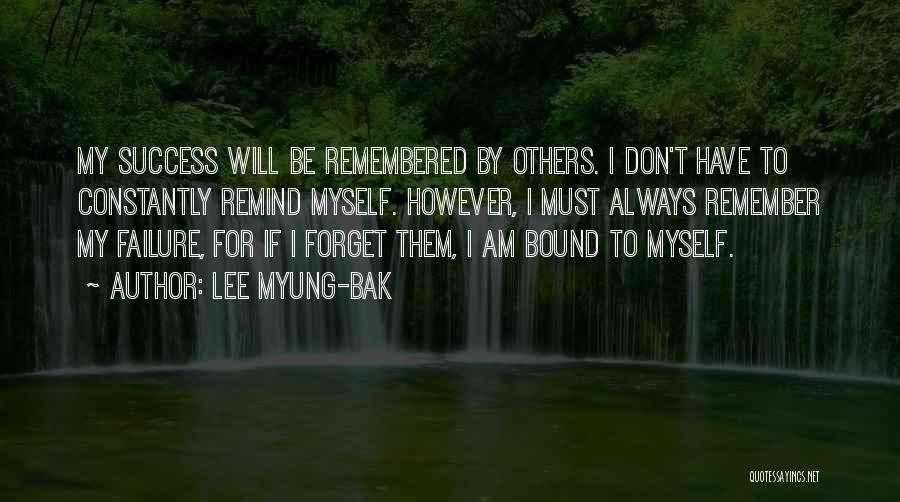 Lee Myung-bak Quotes 722020