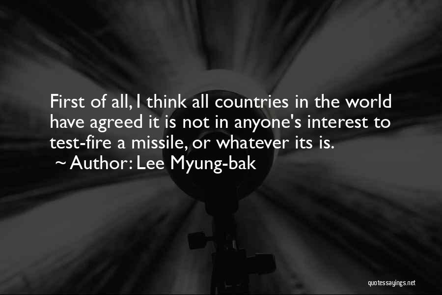 Lee Myung-bak Quotes 756288