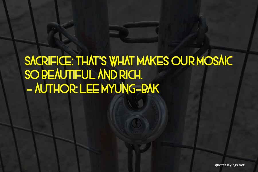 Lee Myung-bak Quotes 82137