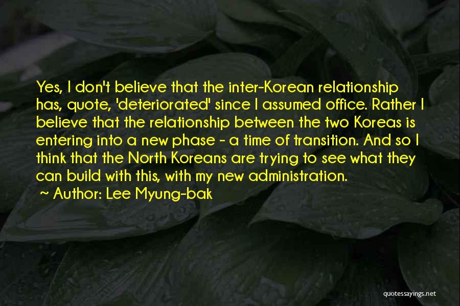 Lee Myung-bak Quotes 906971