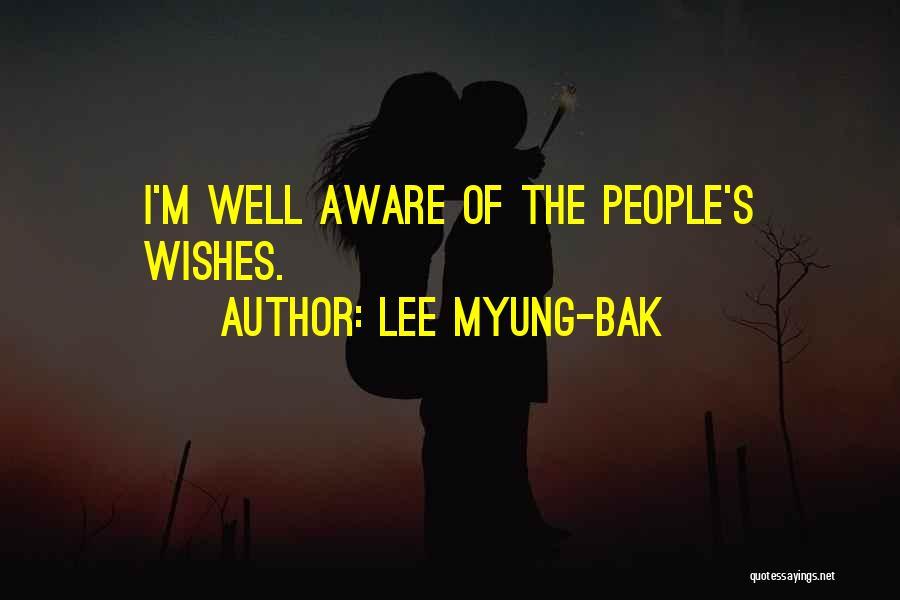 Lee Myung-bak Quotes 938781