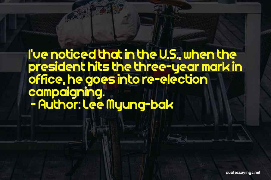 Lee Myung-bak Quotes 996339