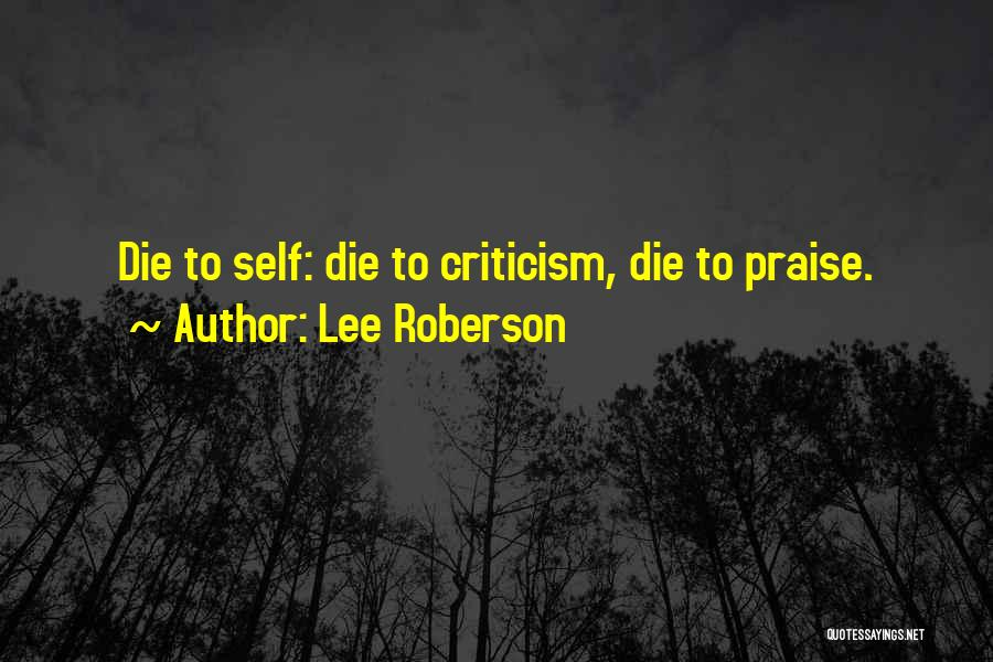 Lee Roberson Quotes 1336536