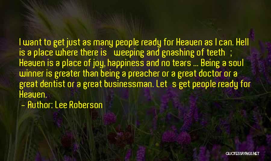 Lee Roberson Quotes 1567126