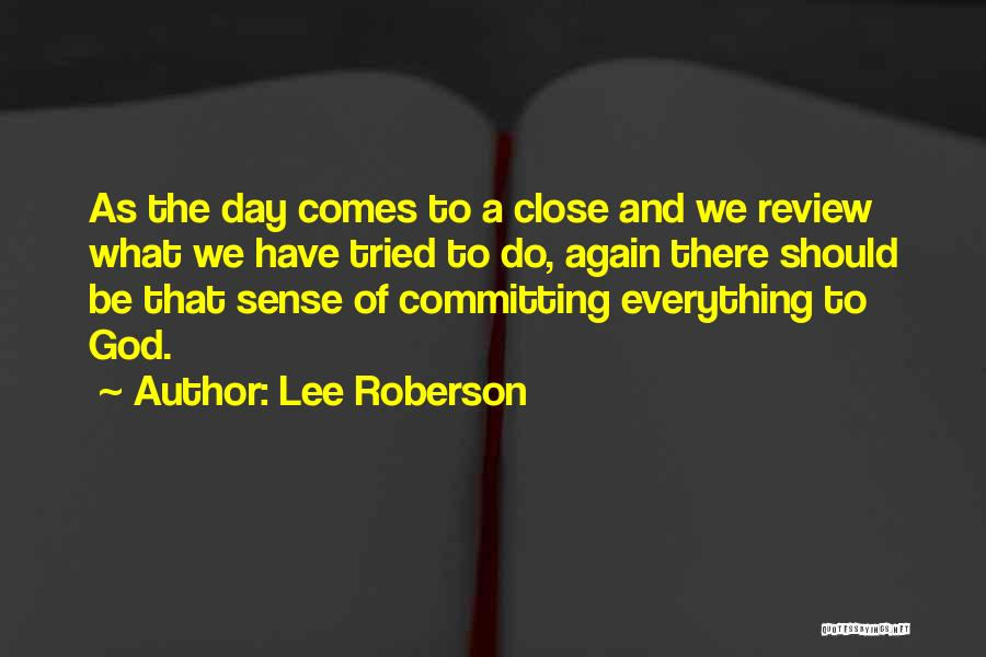 Lee Roberson Quotes 2022164