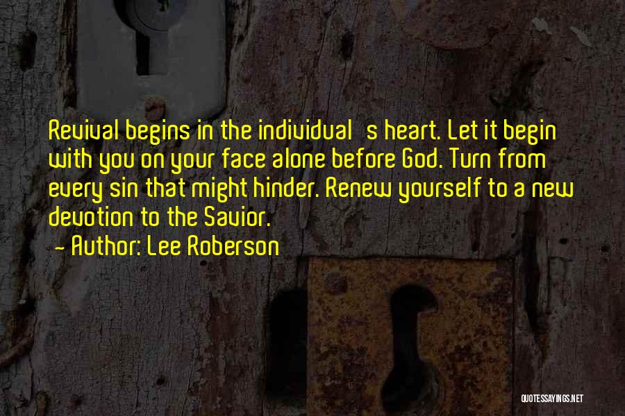 Lee Roberson Quotes 222410