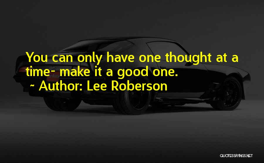 Lee Roberson Quotes 337948
