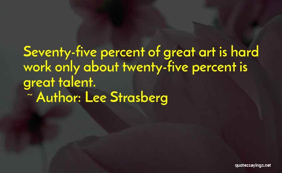 Lee Strasberg Quotes 1108183