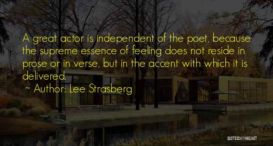 Lee Strasberg Quotes 449917
