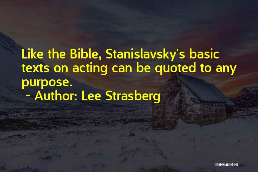 Lee Strasberg Quotes 817377
