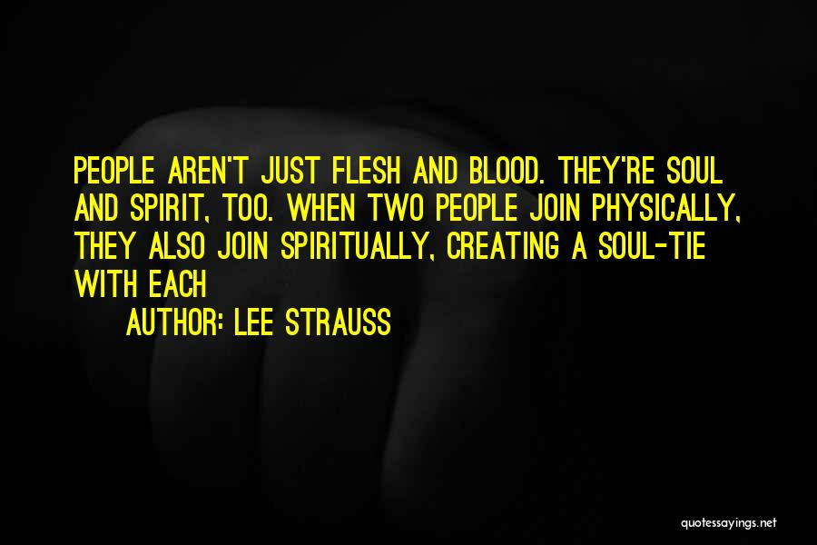 Lee Strauss Quotes 1073242