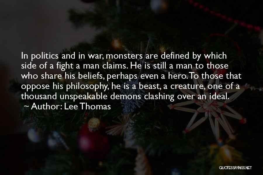 Lee Thomas Quotes 1469620