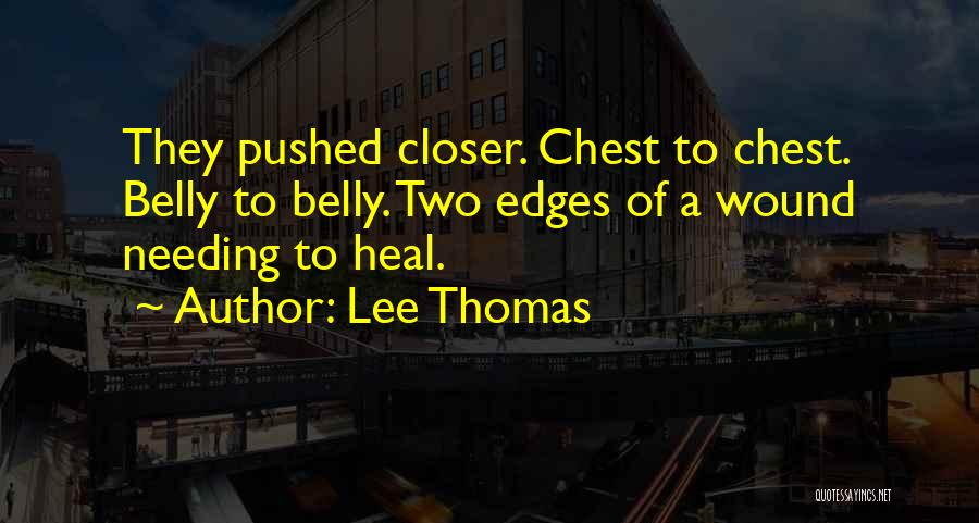 Lee Thomas Quotes 2150925