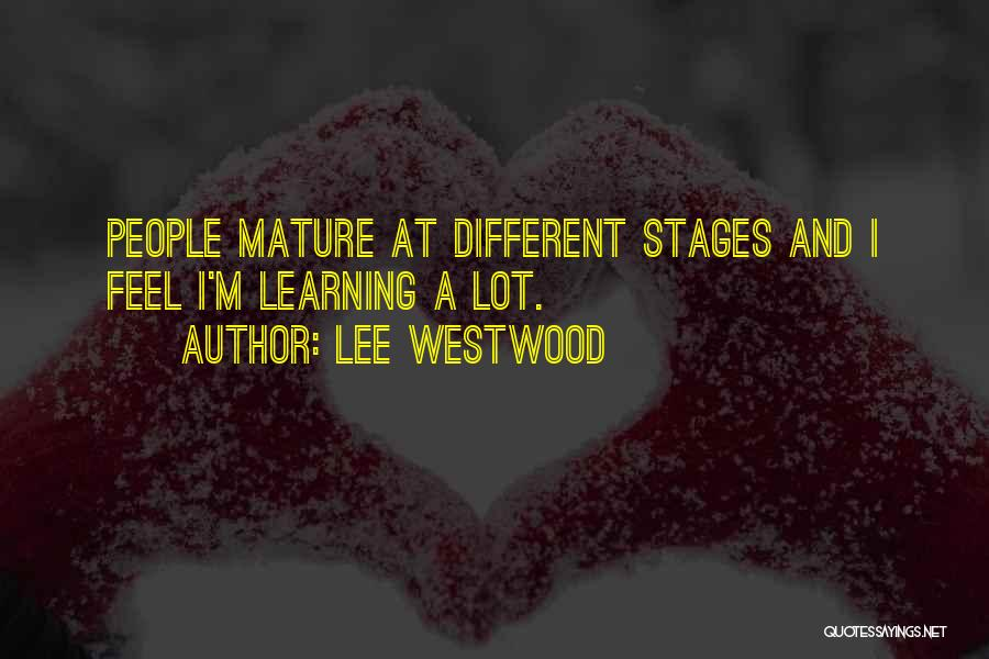 Lee Westwood Quotes 1136993
