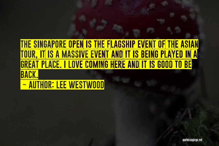 Lee Westwood Quotes 1199211