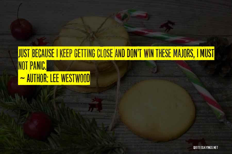 Lee Westwood Quotes 1567373
