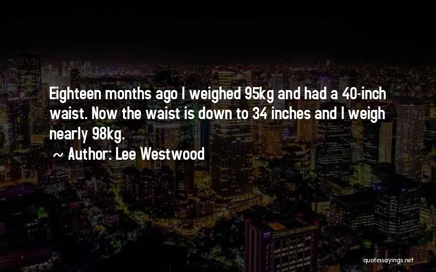 Lee Westwood Quotes 2173020