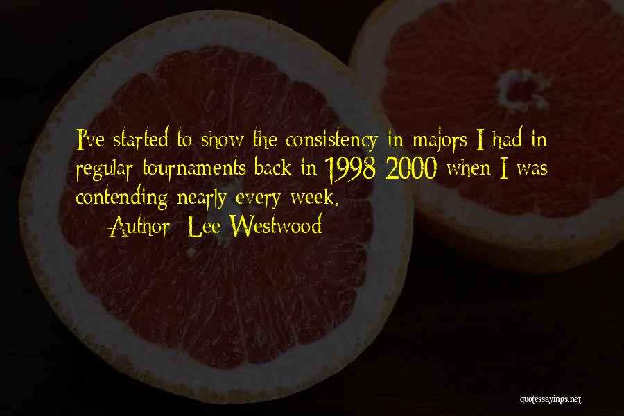 Lee Westwood Quotes 2225411