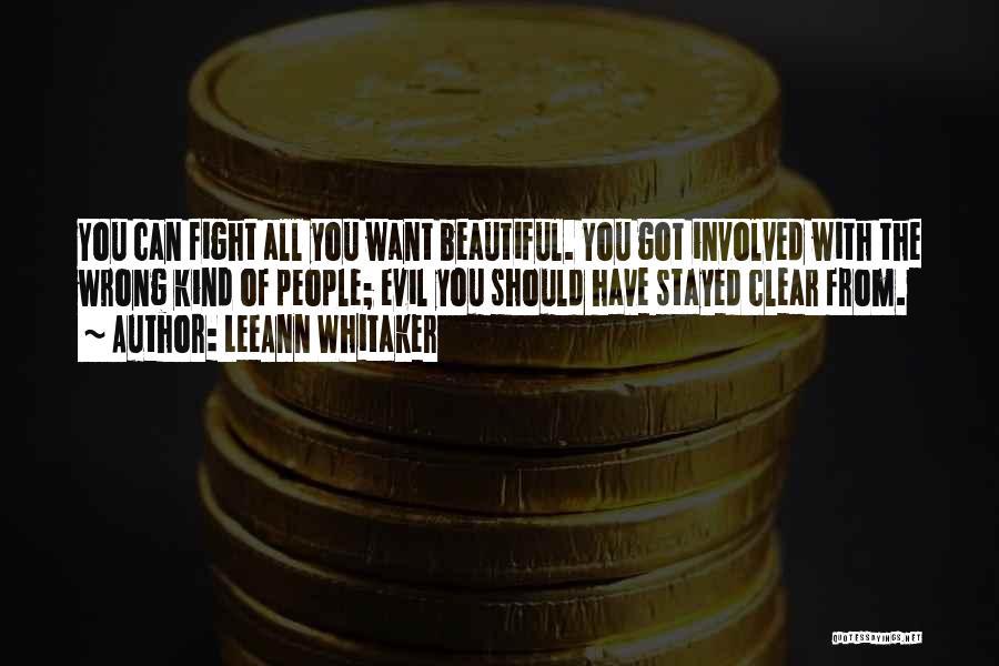 LeeAnn Whitaker Quotes 1249053