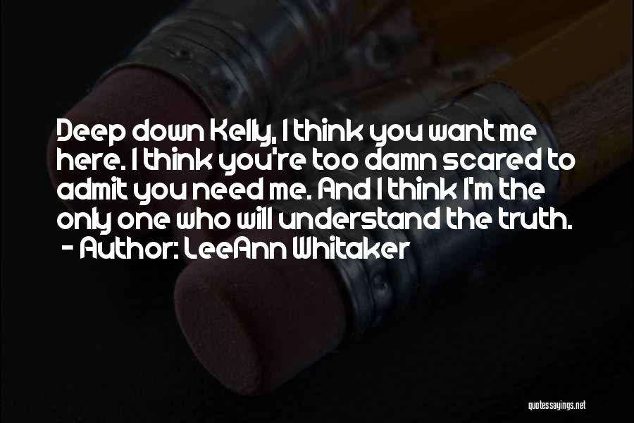 LeeAnn Whitaker Quotes 1679443