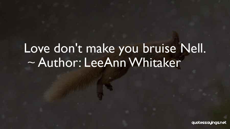 LeeAnn Whitaker Quotes 1909235