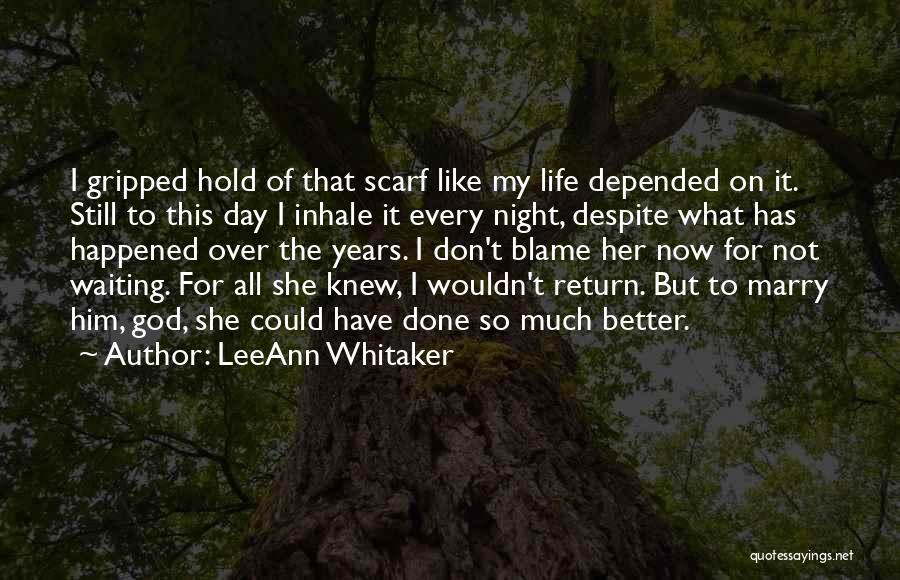 LeeAnn Whitaker Quotes 452851