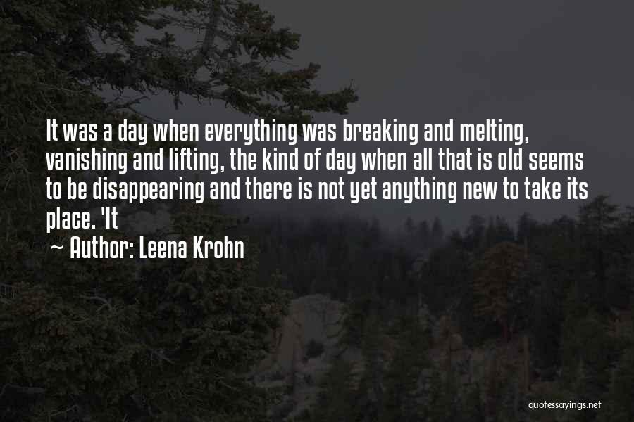 Leena Krohn Quotes 383617