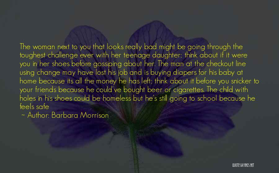 Left Friends Quotes By Barbara Morrison