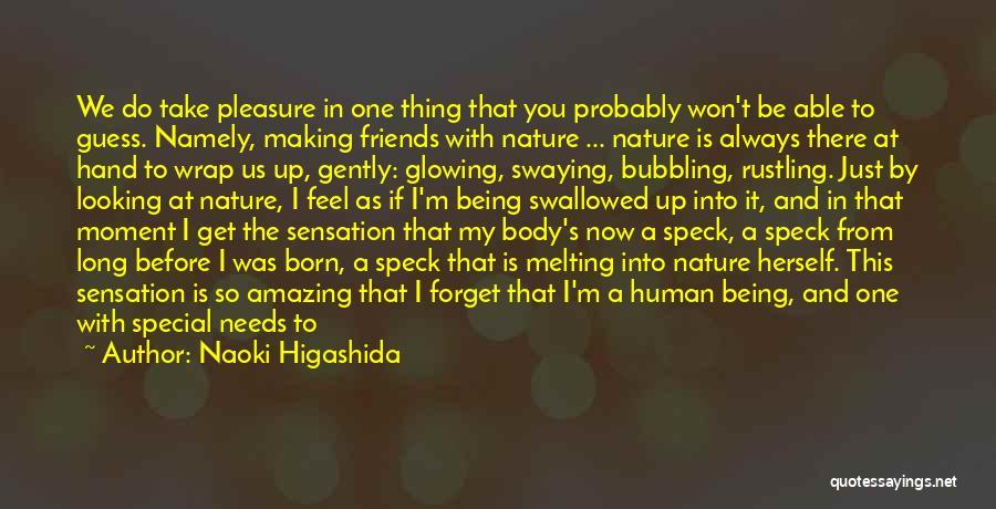 Left Friends Quotes By Naoki Higashida