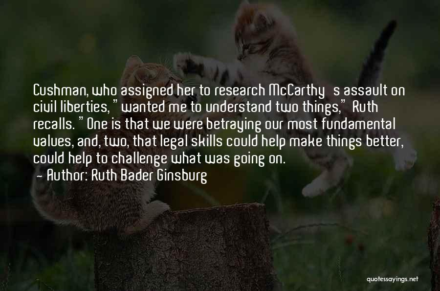 Legal Research Quotes By Ruth Bader Ginsburg