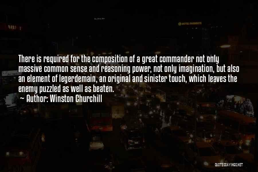 Legerdemain Quotes By Winston Churchill
