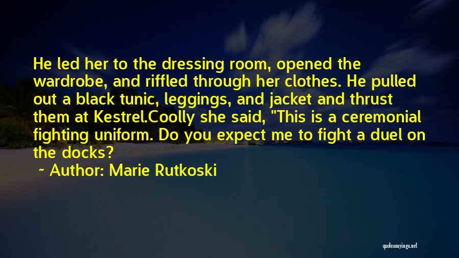 Leggings Quotes By Marie Rutkoski