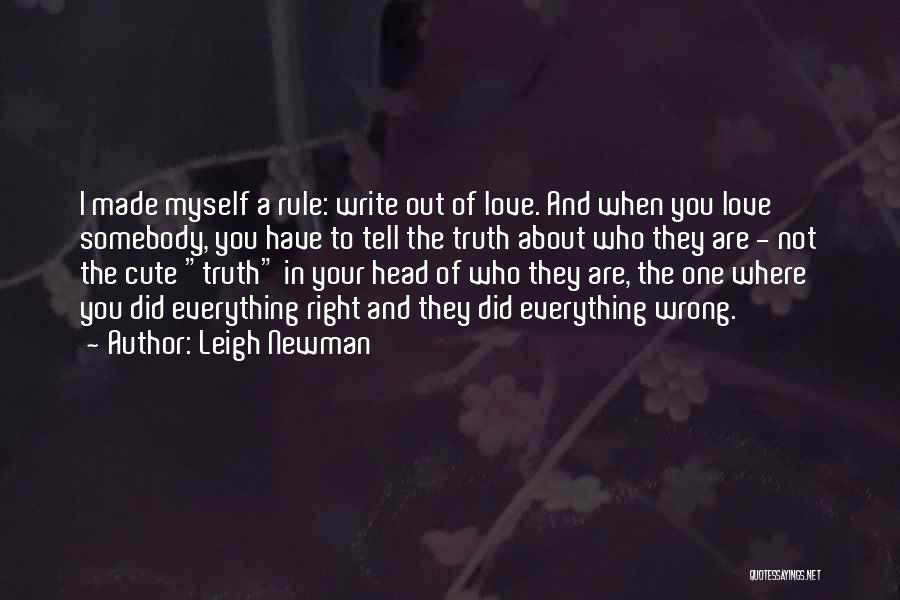 Leigh Newman Quotes 140059