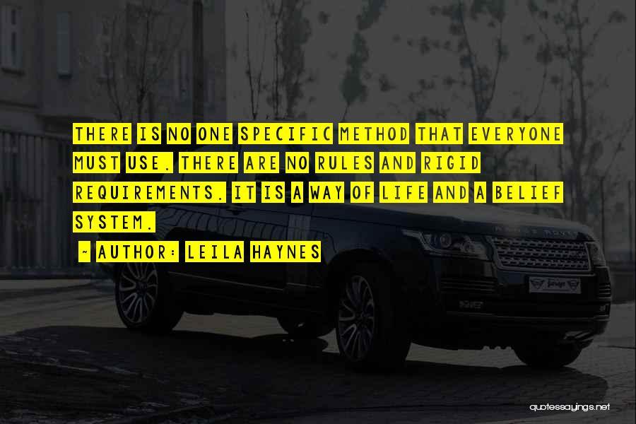 Leila Haynes Quotes 741275