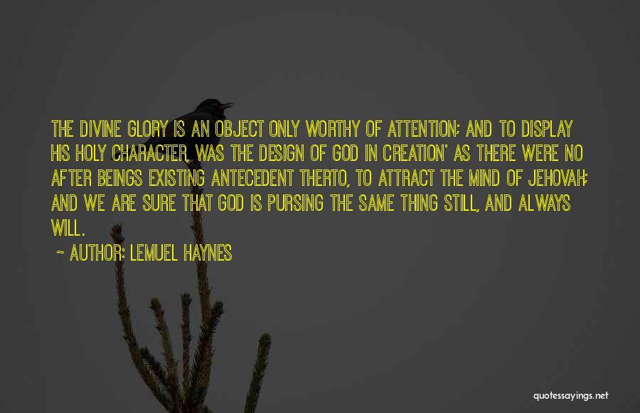Lemuel Haynes Quotes 1420825