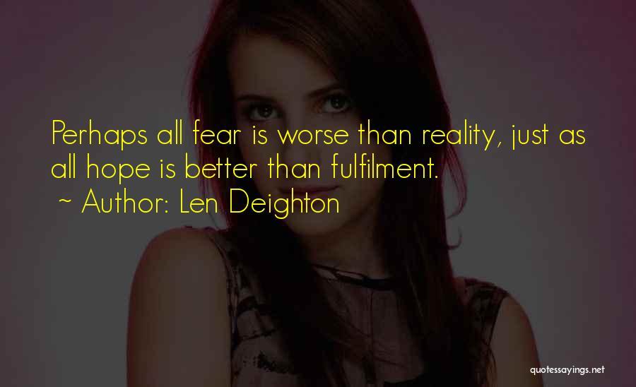 Len Deighton Quotes 1101342