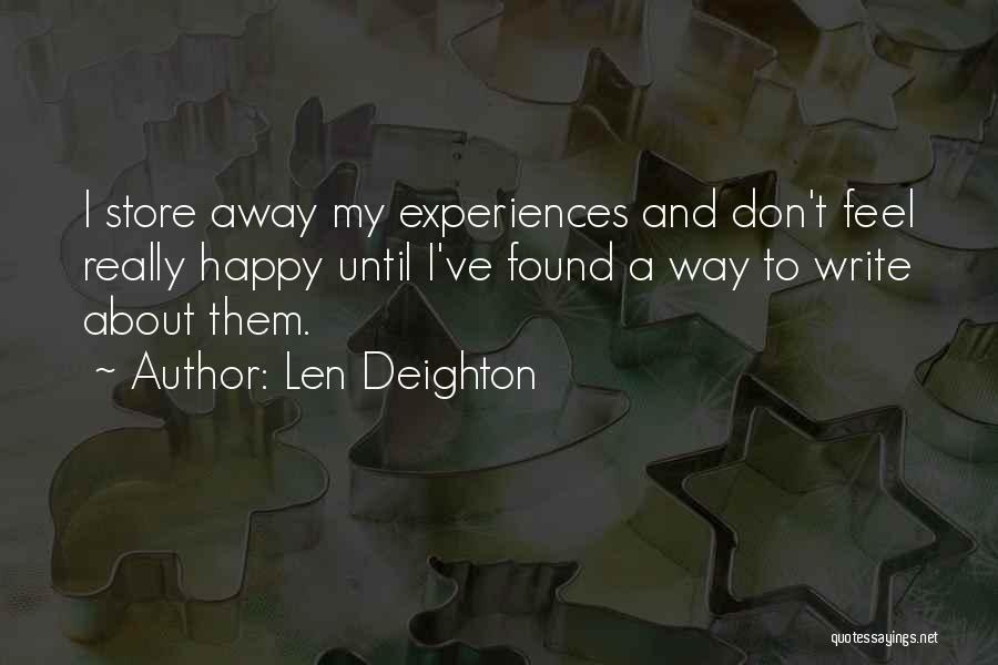 Len Deighton Quotes 2211179