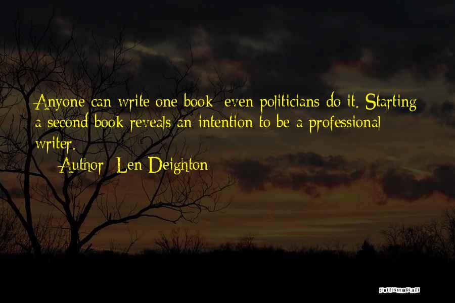 Len Deighton Quotes 307162