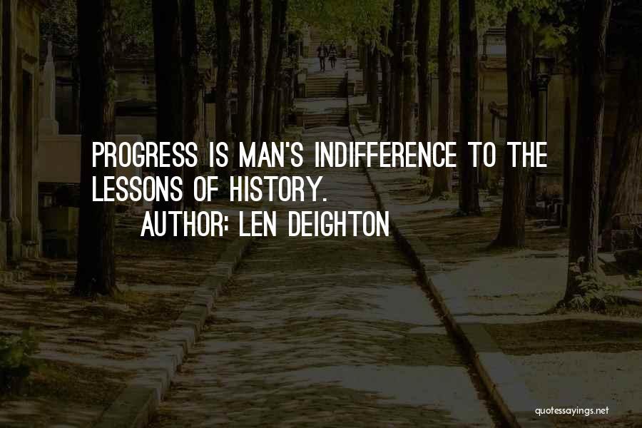 Len Deighton Quotes 437217