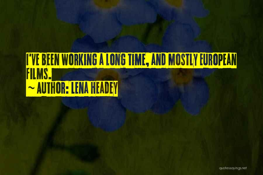 Lena Headey Quotes 823451