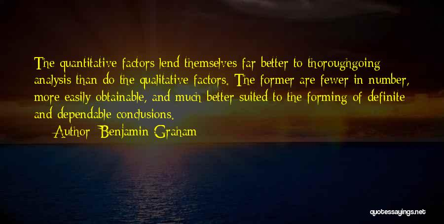Lend Quotes By Benjamin Graham
