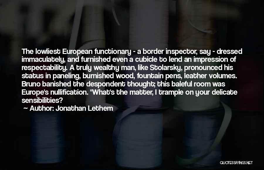 Lend Quotes By Jonathan Lethem
