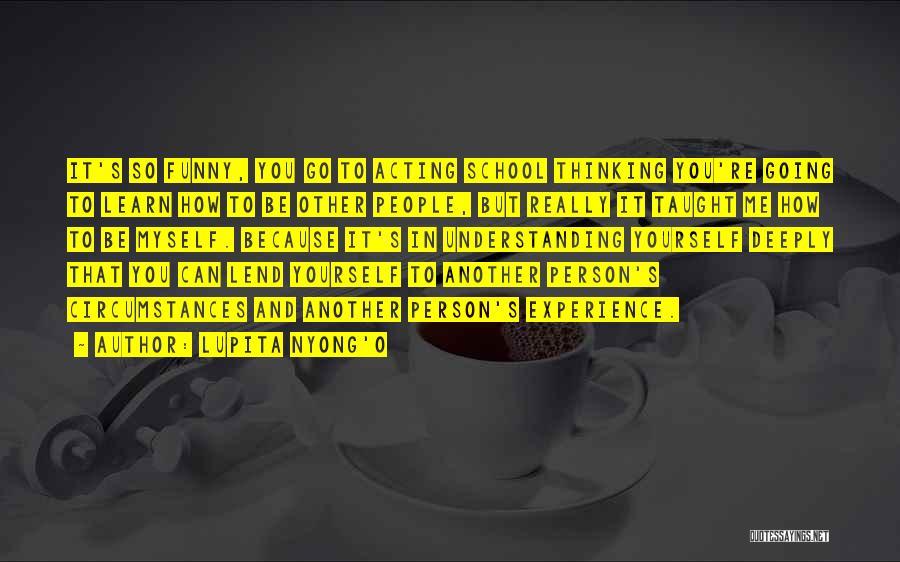 Lend Quotes By Lupita Nyong'o
