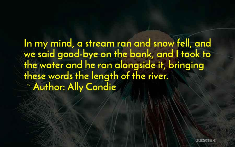Length Quotes By Ally Condie