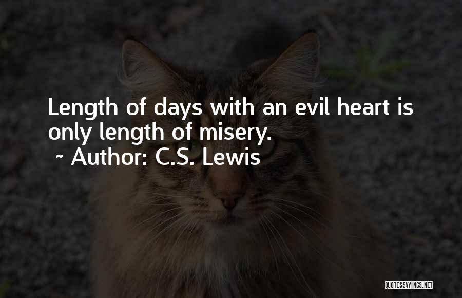 Length Quotes By C.S. Lewis