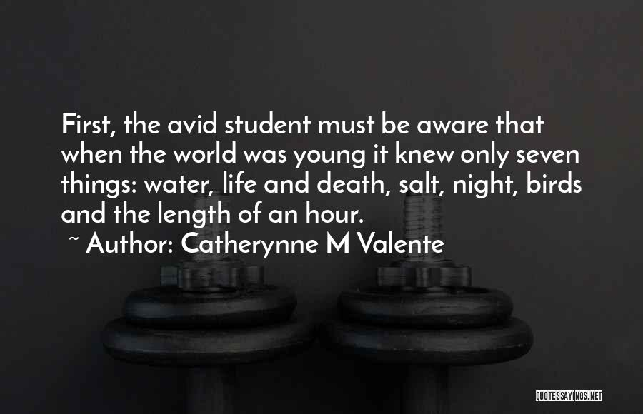 Length Quotes By Catherynne M Valente