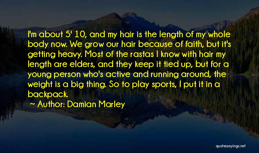 Length Quotes By Damian Marley