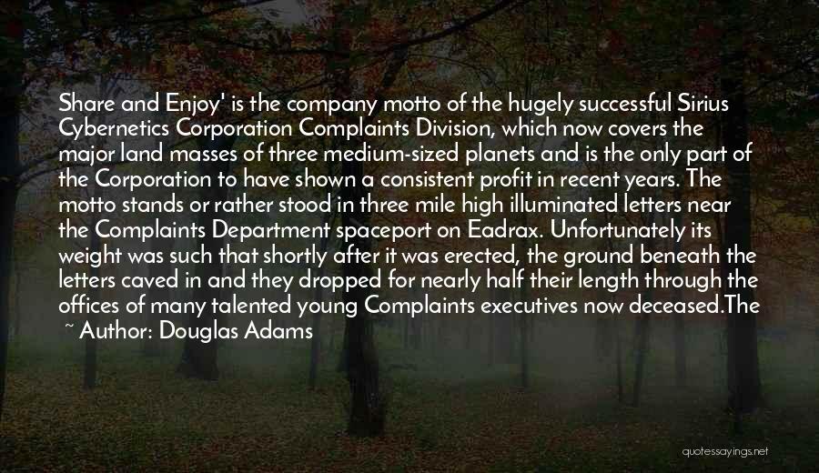 Length Quotes By Douglas Adams