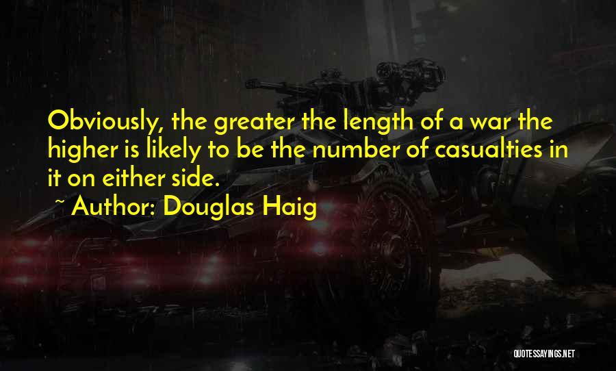 Length Quotes By Douglas Haig
